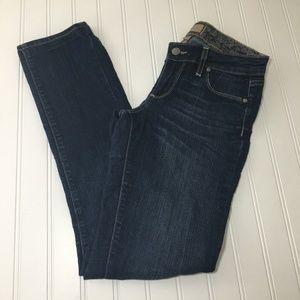 Paige Jeans Peg Skinny, Medium Wash, Size 25